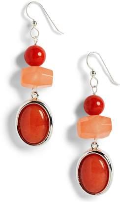 Simon Sebbag Multi Stone Drop Earrings