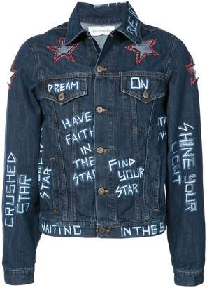 Faith Connexion star patch jacket