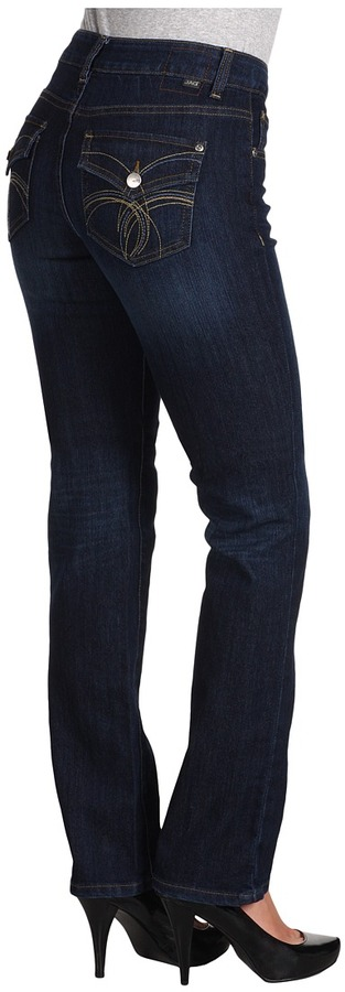 Jag Jeans Ruby Mid Straight in Indigo Nights (Indigo Nights) - Apparel