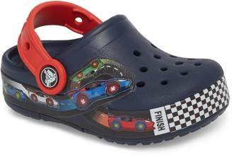 Crocs TM) Crocband Fun Lab Light-Up Slip-On