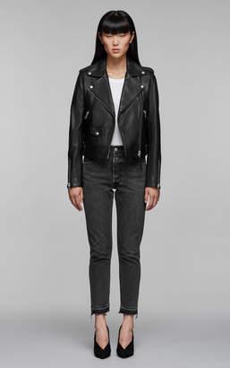 Mackage BAYA Classic moto leather jacket