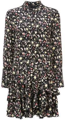 Jason Wu floral flared dress