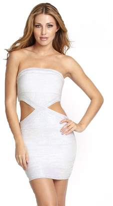 Wow Couture Hollywood Star Fashion Sexy Iridescent Bodycon Bandage Dress