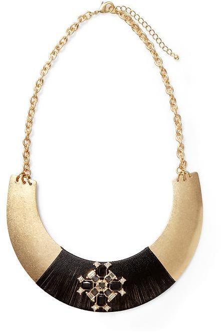 Rachel Zoe Sabine Wrapped Collar Necklace