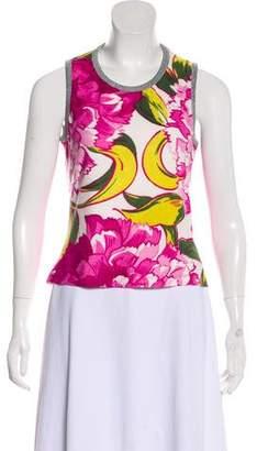 Dolce & Gabbana Sleeveless Printed Top