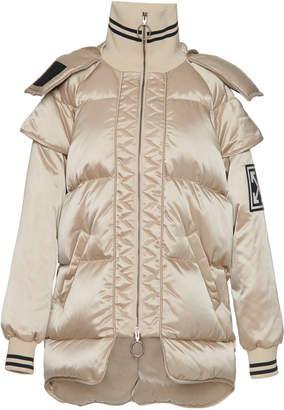 Off-White Technical High-Neck Puffer Coat