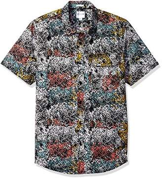 GUESS Men's Painterly Print Shirt