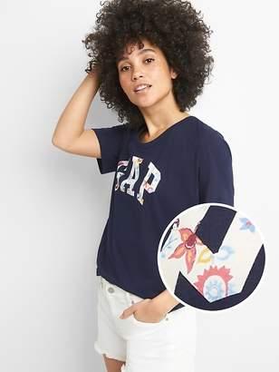 Gap Logo Short Sleeve Scoop Neck T-Shirt