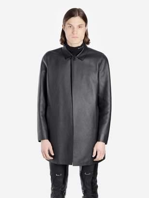 Alyx BLACK LEATHER COAT