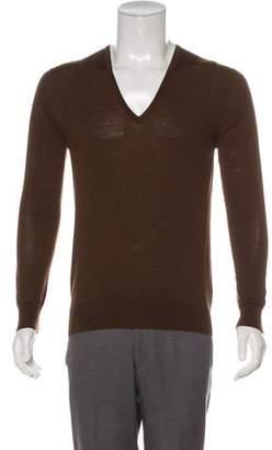 Prada Lightweight V-Neck Sweater