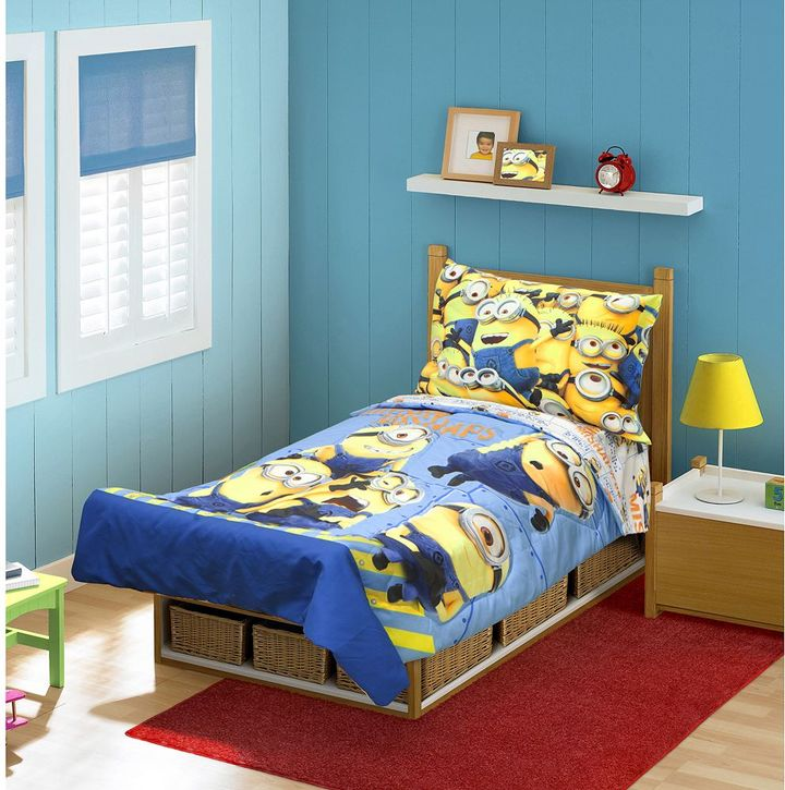 "Despicable Me Minions ""Mishap"" 4-pc. Toddler Bedding Set"