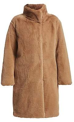 Akris Punto Women's Faux Fur Teddy Coat