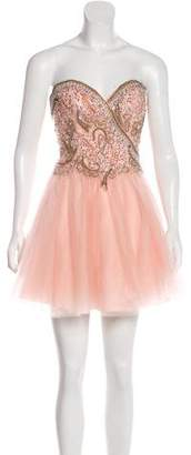 Terani Couture Embellished Tutu Dress w/ Tags