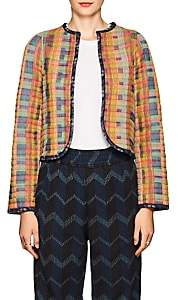 Ace&Jig Women's Quilted Cotton Reversible Jacket