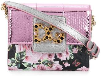 ba60a79165 Dolce   Gabbana Millenials floral shoulder bag