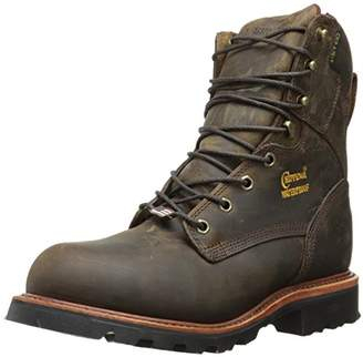 "Chippewa Men's 8"" Waterproof Insulated Steel Toe EH 26330 Lace Up Boot"