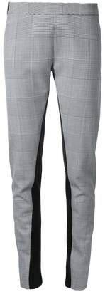 Gareth Pugh glen plaid leggings