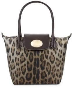 1fe2d93d7016 Roberto Cavalli Leopard Tote Bag