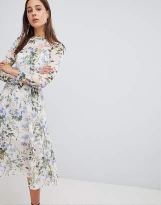 New Look Summer Floral Midi Dress