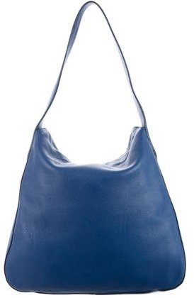 prada Prada Vitello Daino Double Flap Hobo