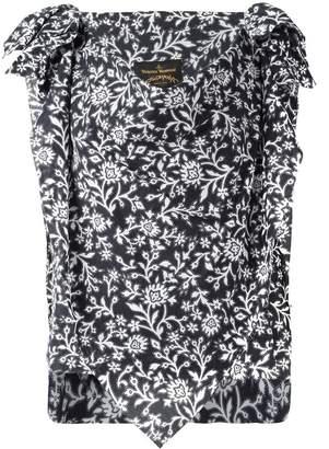 Vivienne Westwood handkerchief floral blouse