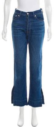 Each X Other High-Rise Straight-Leg Jeans