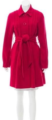 Theory Long Sleeve Wool Jacket