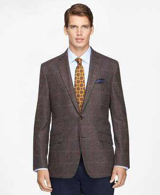 Brooks Brothers Regent Fit Large Plaid Sport Coat