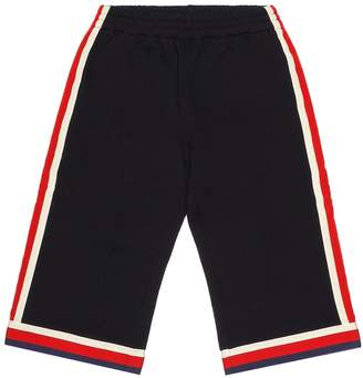 Gucci Kids Cotton jersey trackpants