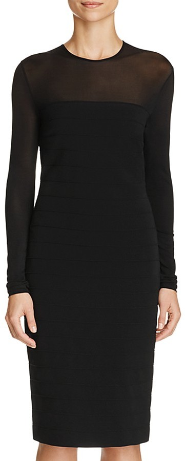 Max Mara Max Mara Orafo Illusion Detail Dress