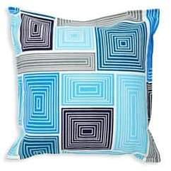 Jonathan Adler Blocks Bobo Cotton Pillow