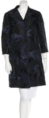 pradaPrada Knee-Length Silk Coat