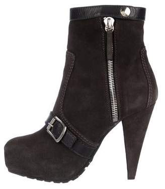 Proenza Schouler Suede High-Heel Boots