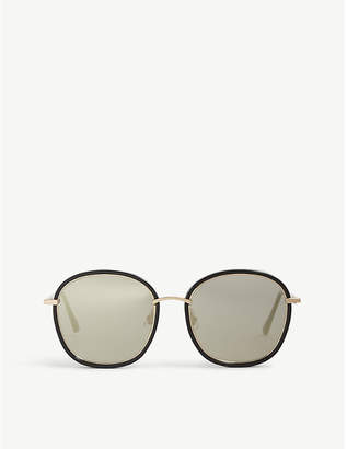 Gentle Monster Mad Crush tinted round-frame sunglasses
