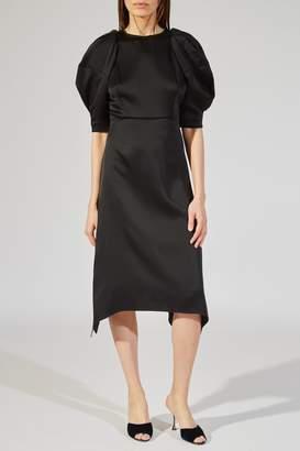 Khaite The Cynthia Dress In Black