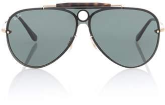 Ray-Ban Blaze Runner aviator sunglasses