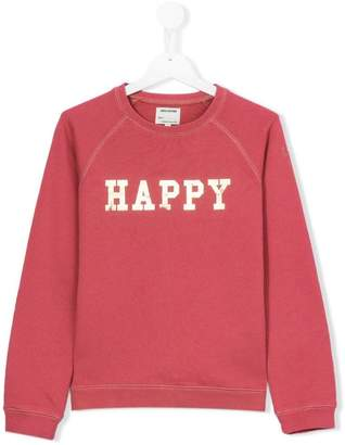 Zadig & Voltaire Kids Happy sweatshirt