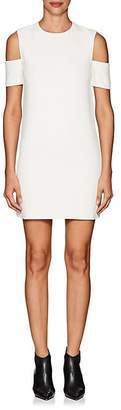Helmut Lang Women's Cold-Shoulder Crepe Shift Dress