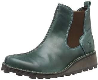 Fly London Women's MEBE971FLY Chelsea Boots, (Dk Brown 001), 9 (42 EU)