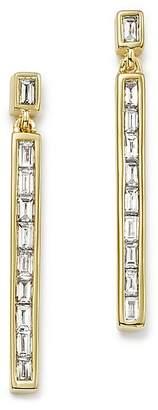 Bloomingdale's Diamond Baguette Linear Drop Earrings in 14K Yellow Gold, 0.50 ct. t.w.