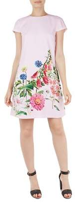 Ted Baker Gemmma Florence Floral Print Swing Dress