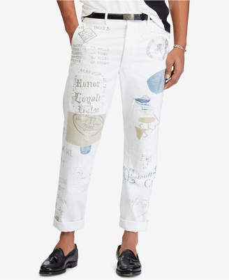 Polo Ralph Lauren Men's Iconic Gi Cotton Chino Pants