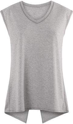Sweaty Betty Open Back Tee