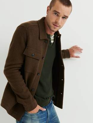 Lucky Brand BOILED WOOL JACKET