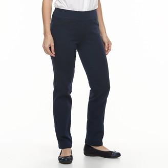 Croft & Barrow Women's Effortless Stretch Pull-On Pants