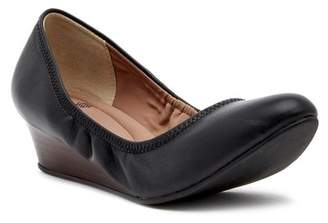 Susina Fraya Leather Wedge Pump - Multiple Widths Available