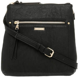 Jag Stitch Zip Top Crossbody Bag JH-0019