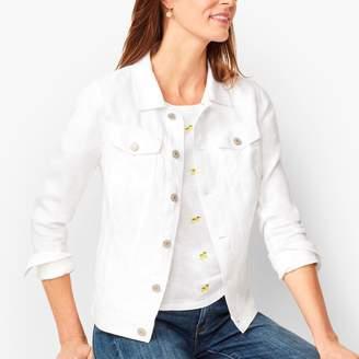 Talbots Classic Linen Jean Jacket