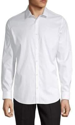 Calvin Klein Cotton Casual Button-Down Shirt