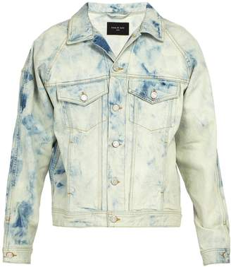 Fear Of God Acid-wash denim jacket